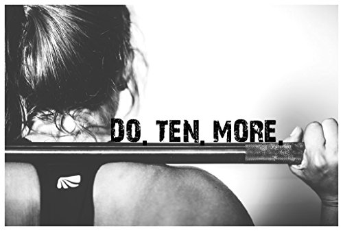 MR.CI Do Ten More Poster Wall Print|Inspirational...