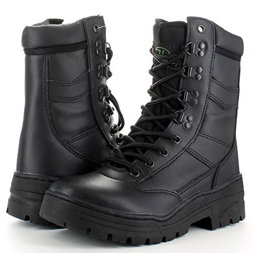 Highlander Mens Delta Military Leather Lace Up Winter Walking Boots