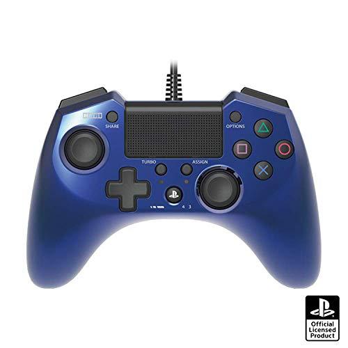 【連射機能搭載】ホリパッドFPSプラス for PS4 ブルー