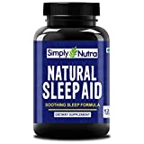 Simply Nutra Natural Sleep Aid with Melatonin with Valerian & Chamomile    Total