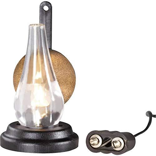 Kahlert Licht 20443 Puppenhauszubehör, schwarz, transparent