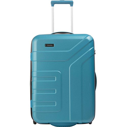 "Travelite Valise trolley ""Vector\"" avec 2 roues turquoise Koffer, 64 cm, 80 liters, Türkis (Turquoise)"
