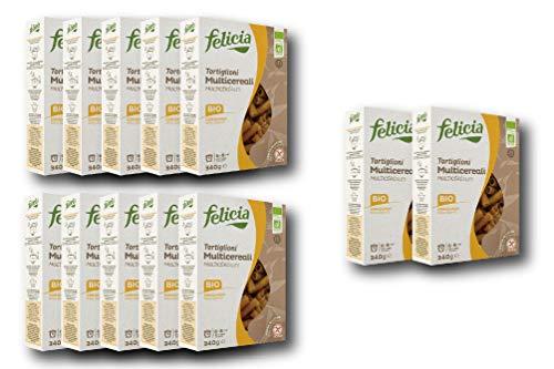 【お得な12個セット】4穀ブレンド(トウモロコシ、米粉、そば粉、キノア)のグルテンフリーパスタ (トルティリオーニ) Gluten Free Multi grain pasta