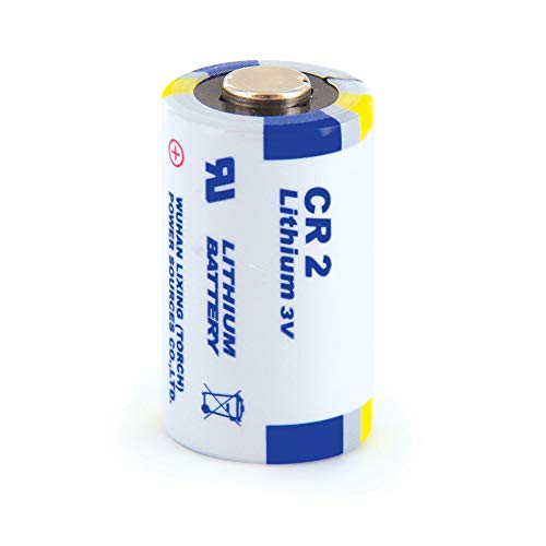 PetSafe 3 Volt Lithium Batterie CR2, Ersatzbatterie für PetSafe Halsbänder, Einzelpack, für Bellkontrolle