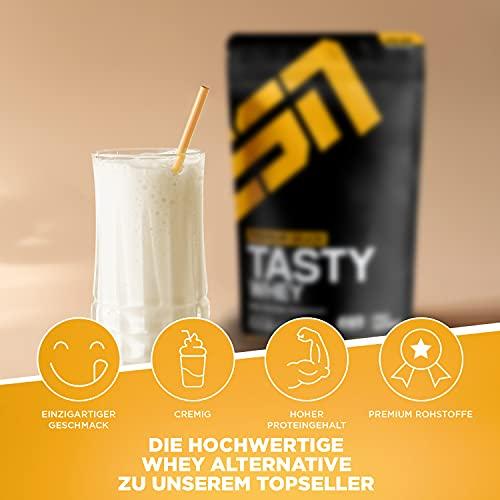 ESN Tasty Whey, Pro Series, Vanilla, 1er Pack (1 x 1000g Beutel) - 2