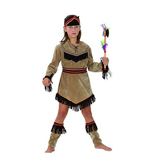 P'TIT CLOWN 81144 Déguisement Enfant Luxe Indienne - S - Multicolore
