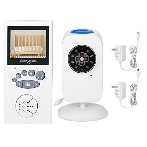 NEUFDAY Nachtsicht-Babyphone , 2,4-Zoll-Farb-LCD-Bildschirm-Babyphone Infrarot-Nachtsicht-Zwei-Wege-Intercom-Kamera(EU)