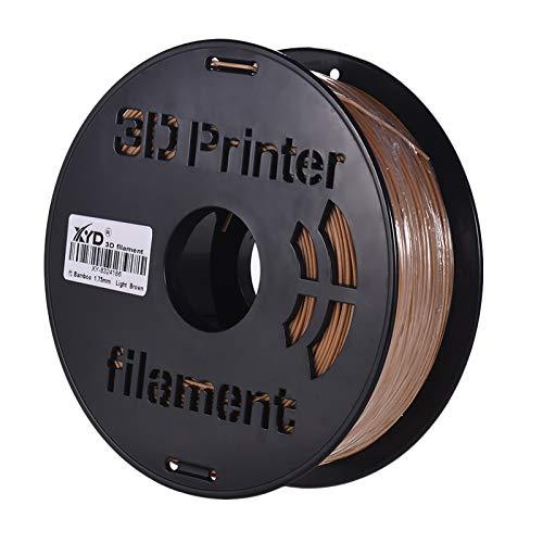1KG/ Spool 3D Printer Bamboo Filament 1.75mm Printing Material Filament Supplies for 3D Printing Machine