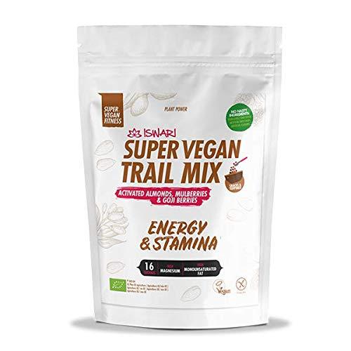 Super Vegan Trail Mix Mandorle attivate, more e bacche di Goji