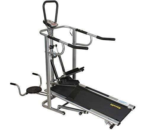 Aerofit AF 902 Multifunctional Manual Treadmill with Display