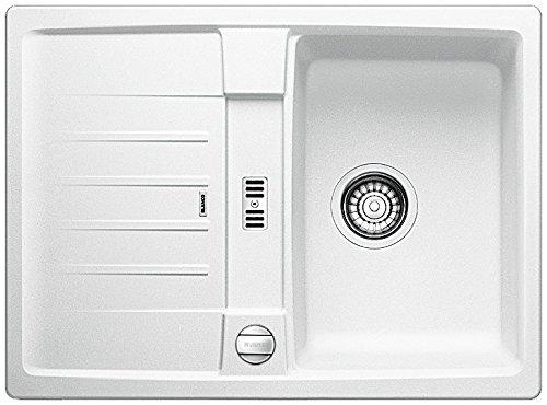 BLANCO Lexa 40 S, Küchenspüle, Silgranit Puradur, weiß, reversibel, 1 Stück, 518625