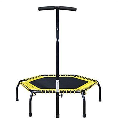 HSBAIS Trampoline Fitness, avec Poignée Ajustable Mini...