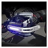 SHIHAOLAN Protector de Manillar de la Manillar de la Mano de la Motocicleta Compatible with Suzuki Escuño Gladius 650 M50 DR 650 GSXR 1000 K8 GSXR 1000 K9 GSR 600 (Color : Black)
