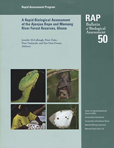 A Rapid Biological Assessment of the Konashen Community Owned Conservation Area, Southern Guyana: RAP Bulletin of Biological Assesesment #51 (RAP Bulletin of Biological Asessment, Band 51)