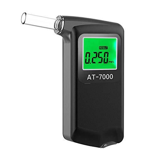 Ciaoed Alcoholimetro Digital LCD Homologado Precisión de Grado Profesional...