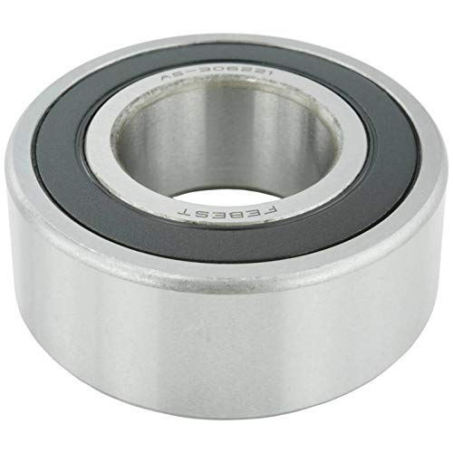 BALL BEARING FOR FRONT DRIVE SHAFT (30X62X21) - Febest # AS-306221-1 Year Warranty