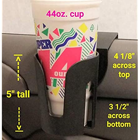 The LEDGE The Best Auto Cup Holder Large Cup Holder (for Yeti's, Hydro flasks, Big Gulps, Large Bottled Drinks, Big Mugs)