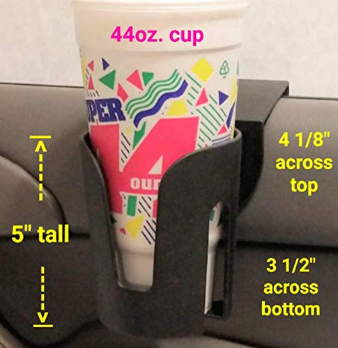 The LEDGE The Best Auto Cup Holder Large Cup Holder (for Yeti's, Hydro flasks, Big Gulps, Large...