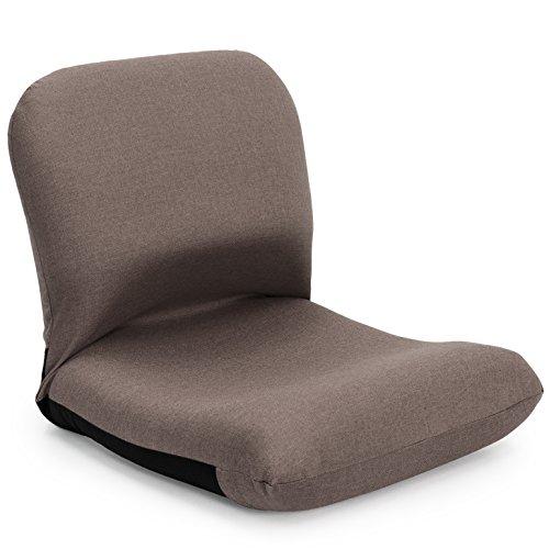 座椅子 産学連携 背中を支える 美姿勢座椅子 CBC313 ブラウン 日本製 ymz-102