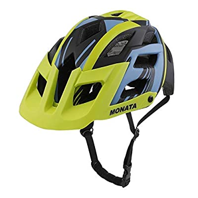 MONATA Mountain Bike Helmet - Adult MTB Cycling Bicycle Helmet with CPSC Certified