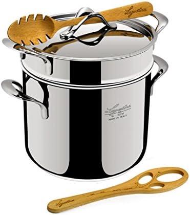 Lagostina La Pasta Set Pastaiola Pasta Pot 22 cm 6 litres Stainless Steel product image