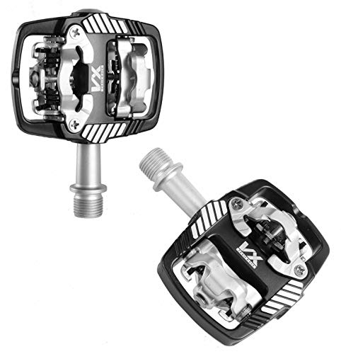 VP VX-6000 Trail Race Mountain Bike Pedals Compatible With Shimano SPD Cleats