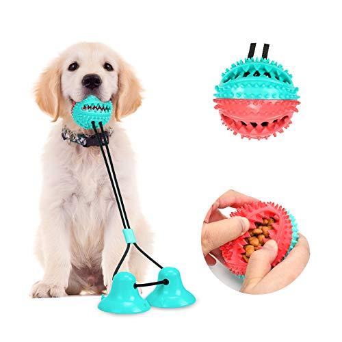 Juguete para Perros con Ventosa,Juguete Multifuncional Perros,Juguete para Perros Molar,Dientes limpios, Apto para Perros pequeños y medianos. (Style B)