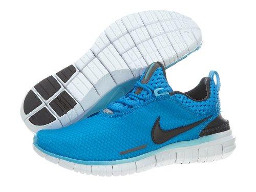 Nike Free OG ´14 BR Breathe Laufschuhe Aktuelles Modell neongelb/grün/grau, Schuhgröße:EUR 45, Farbe:blau/schwarz/weiß