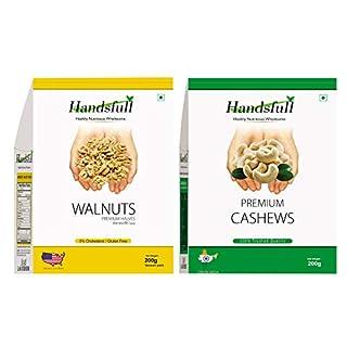 HandsFull Walnuts Almonds Cashew Pitsa Blueberries Apricots