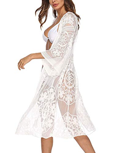 Kimono Encaje Mujer  marca Blingfit