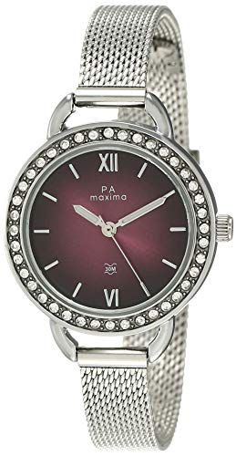 Maxima Analog Brown Dial Women's Watch-53021CMLI