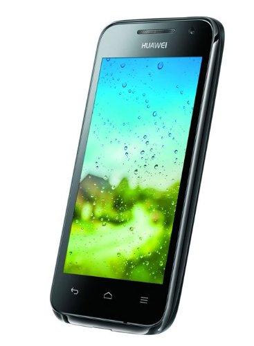 Huawei Ascend G330 Smartphone (10,2 cm (4 Zoll) TFT-Display, 5 Megapixel Kamera, 4 GB Interner Speicher, Android 4.0) schwarz