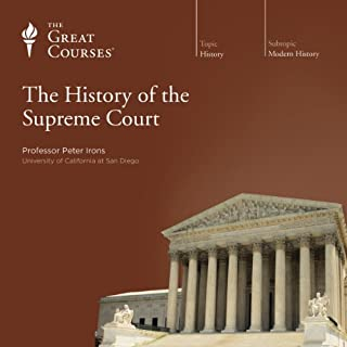 The History of the Supreme Court audiobook cover art