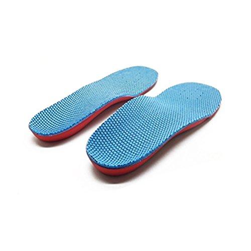 Pixnor Supporto dell'arco plantare piede piatto piede piatto correzione piede dolore sollievo scarpa Soletta per bambini