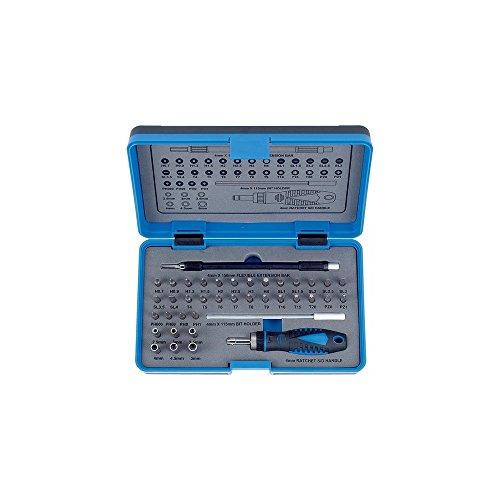 Salki 6621004.0 6621004-Juego 1/4'-39 pcs + Destornillador, Metal, L