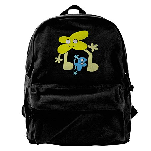 Battle for Bfdi Outdoor Hiking Canvas Rucksack College Bookbag 15.6in Laptop Backpack