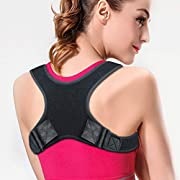 Posture Corrector for Women & Men- LUXIT Back Brace for Perfect Posture- Adjustable and Comfortable Clavicle Brace – Posture Fixer (FDA Approved)