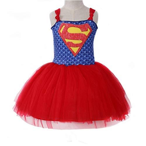 QWG Disfraces de Halloween de 5 a 12 aos, Disfraz de Cosplay de Carnaval para nias, Vestido tut Inspirado en bebs y nios, Disfraces de Halloween de Navidad para nios