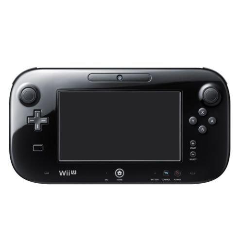 Officielle de Remplacement pour Nintendo Wii U Gamepad [Noir]