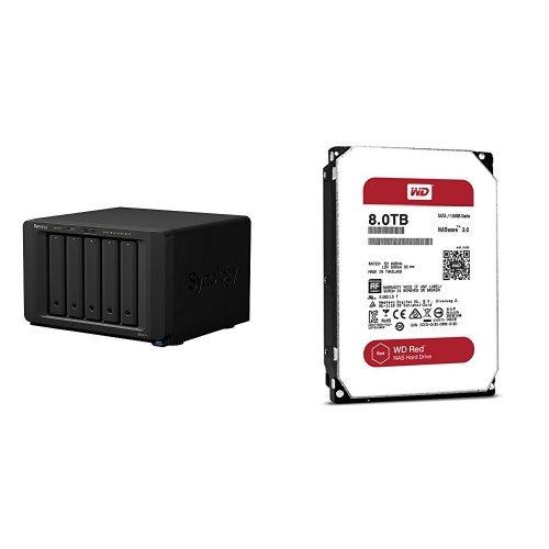 Synology DiskStation DS1517+ メインメモリ2GB 5ベイ NAS キット 日本正規代理店アスク サポート対応 クア...