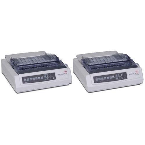 Oki Data 2X Microline 320T, 9-Pin Turbo Dot Matrix Impact Printer, for All Invoice Printing Needs