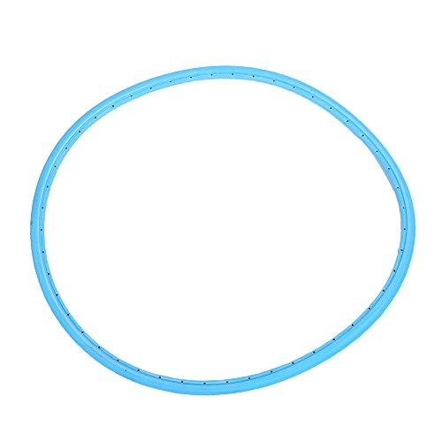 nosii Fahrrad Vollgummireifen Schlauchloser Reifen für 700 * 23c Rennrad Radfahren Fahrrad Festzubehör hellblau