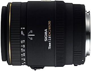 Sigma 70mm f/2.8 EX DG Macro CAF - Objetivo para Canon (Distancia Focal Fija 70mm Apertura f/2.8 diámetro: 62mm) Color Negro - para Canon