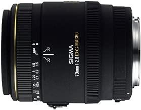 Sigma 70mm F/2.8 EX DG Macro Lens for Canon Digital SLR Cameras