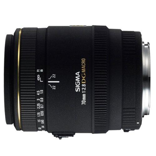 Sigma 70mm f/2.8 EX DG Macro NAF - Objetivo para Nikon (Distancia Focal Fija 70mm, Apertura f/2.8, diámetro: 62mm) Color Negro - para Nikon