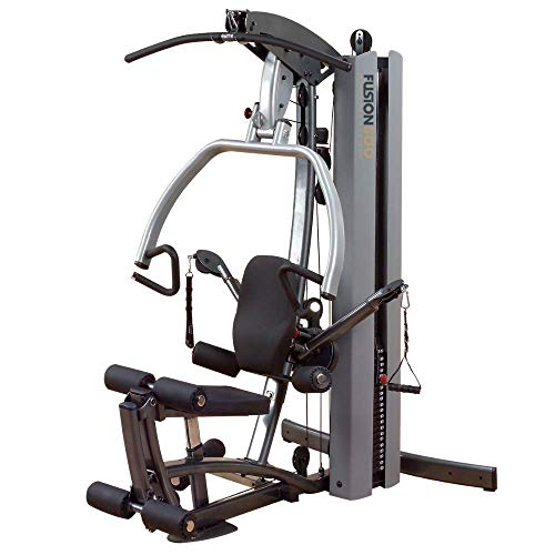 Body-Solid Fusion 500 Home Gym with 210-Pound Weight Stack (F500/2)