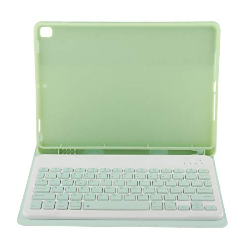 LOVIVER Bluetooth Keyboard Case Stand Cover for IPad 8th 7th 10.2 W/Pencil Holder - Green