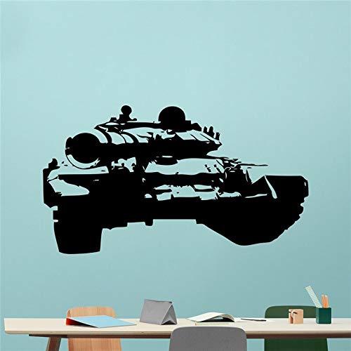 Hetingyue militaire oorloggers auto gevecht US Army sjabloon muurposter vinyl kunst zelfklevend
