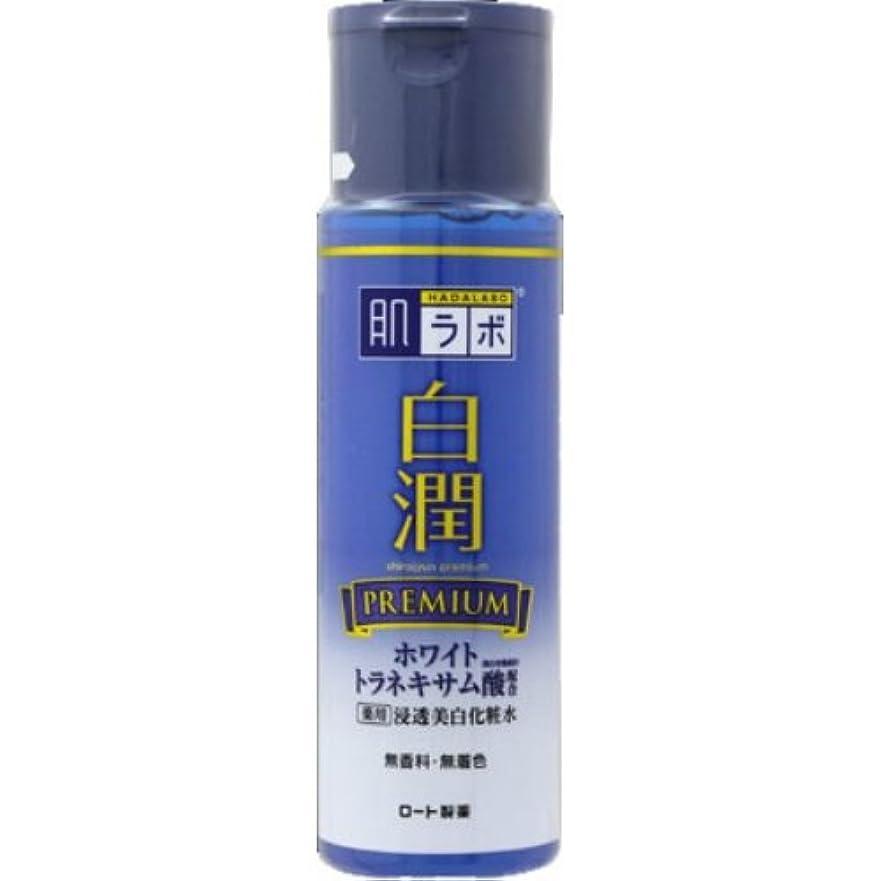お風呂を持っているレクリエーション代表団肌ラボ 白潤プレミアム 薬用浸透美白化粧水 170mL × 3個セット