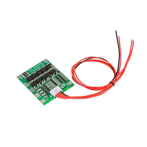 Guangcailun 4S 14.8V 30A BMS Protection PCB Cell Board Battery Cell Balance Module for Drill Motor with Balancer